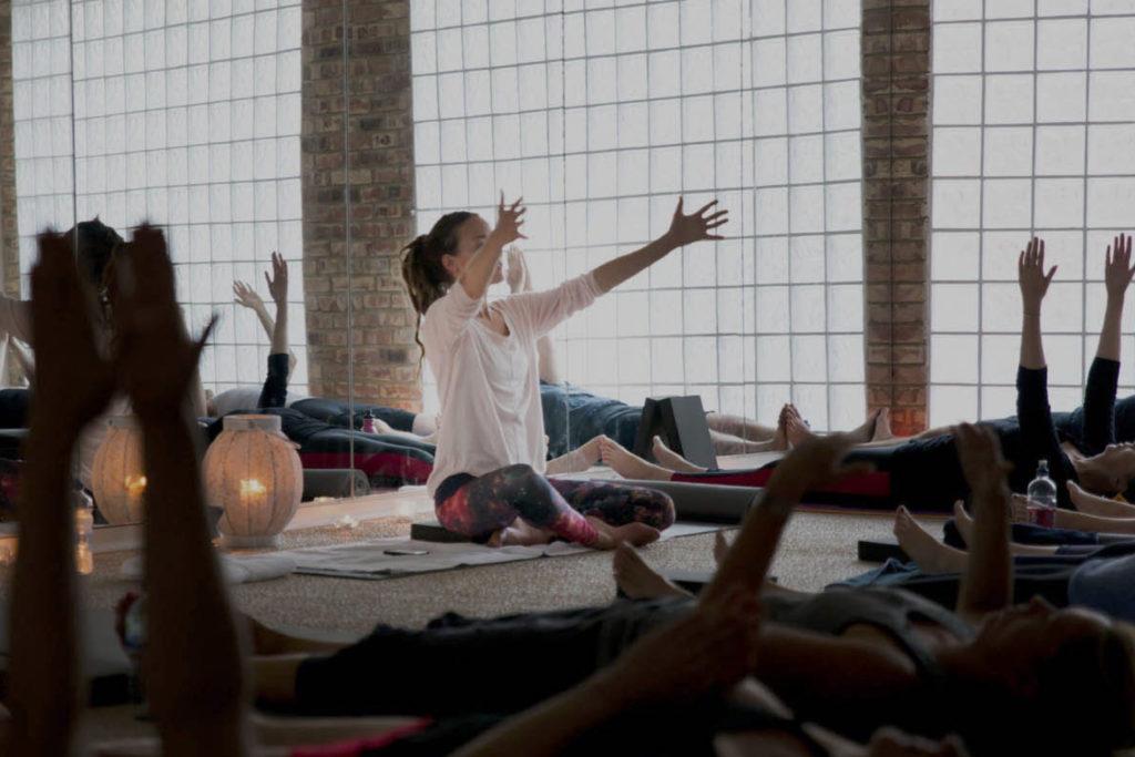 Hot Yoga studio Crouch End