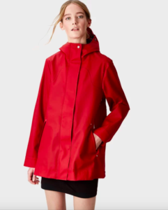 hunter red jacket