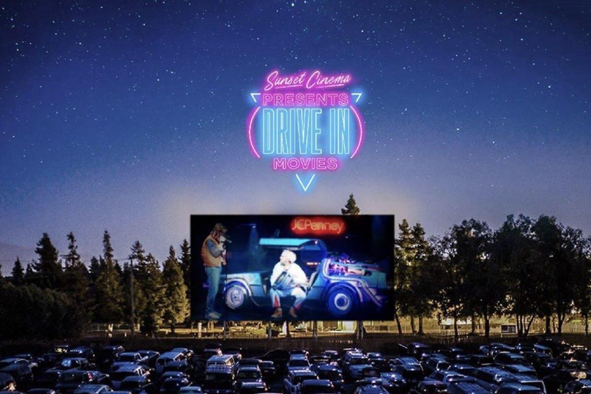 Sunset Outdoor cinema