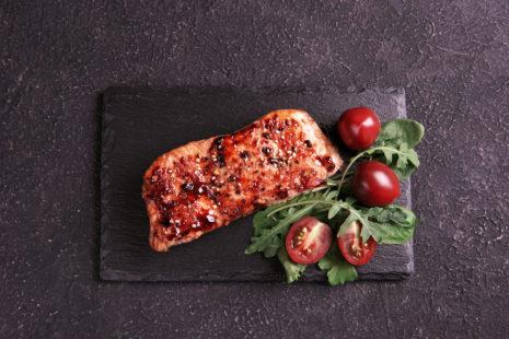 Immune-boosting Sticky Teriyaki Salmon