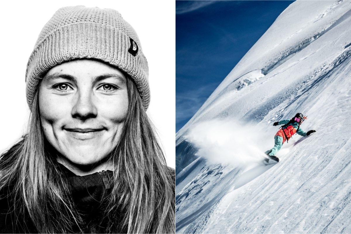 Marion Haerty snowboarding extreme female athletes