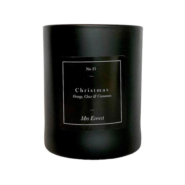 Mrs Everest Christmas candle
