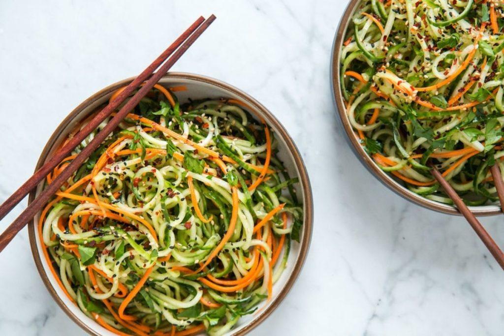 Spiralizing Vegetables