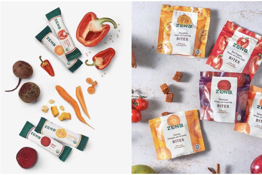 ZenB veggie snacks