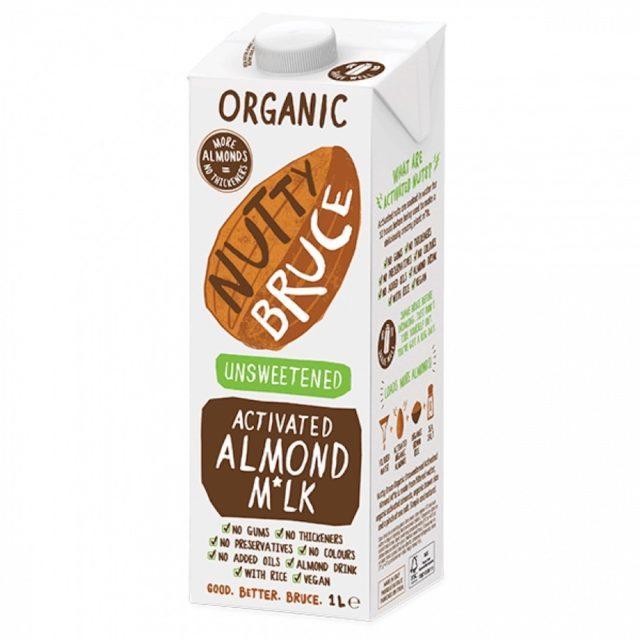 Nutty Bruce Almond milk