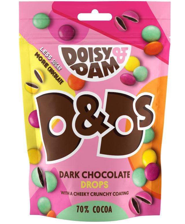 DOISY & DAM DARK CHOCOLATE SHARE BAGS