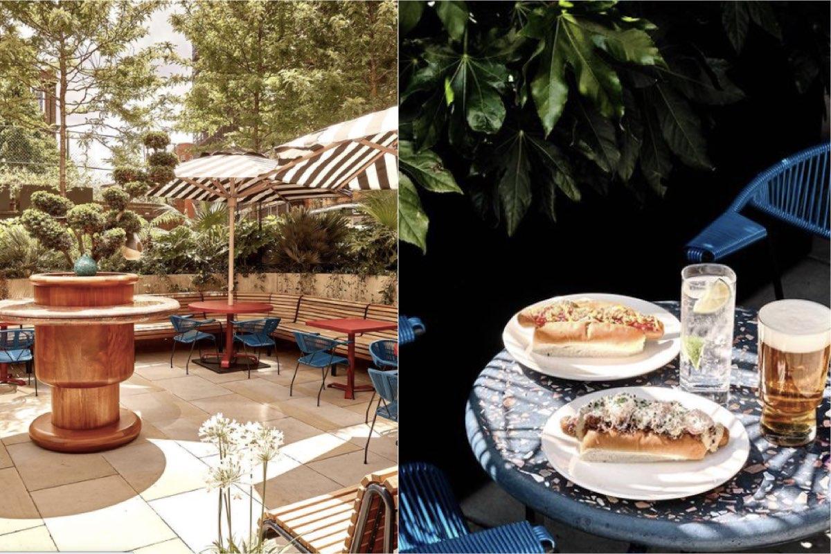 Double Standard outdoor restaurant