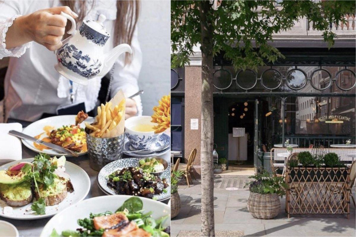 NAC - Best outdoor restaurants in London to book now