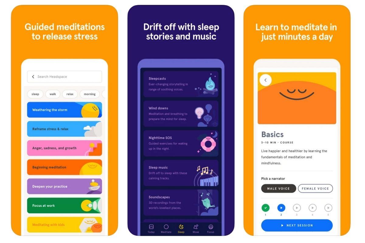 Daily meditation app