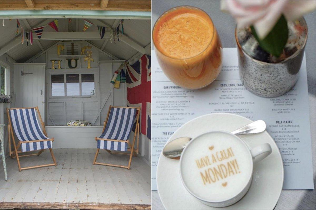 Berkley Beach Hut - Best outdoor restaurants in London to book now