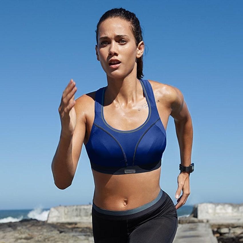 shock absorber running sports bra