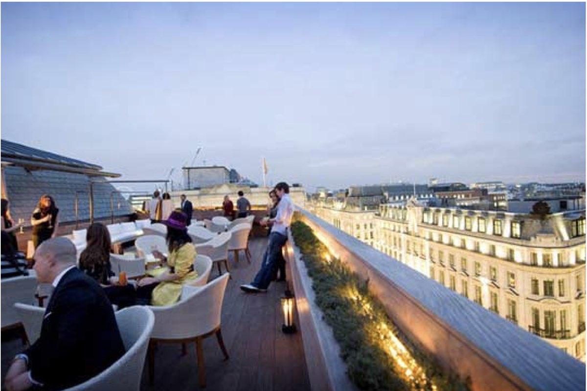 Rooftop Bars In Central London - Aqua Spirit