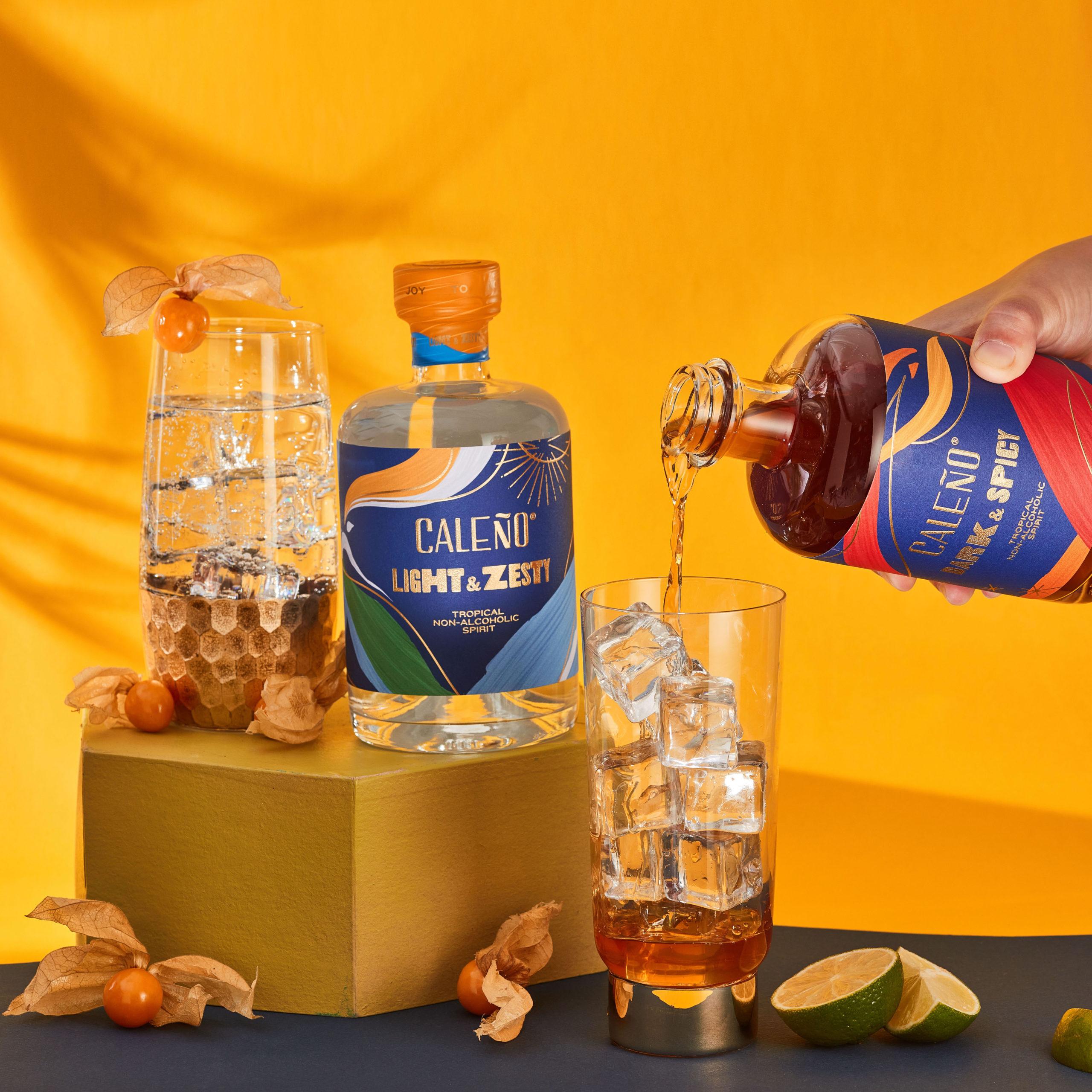 Caleño non-alcoholic spirits