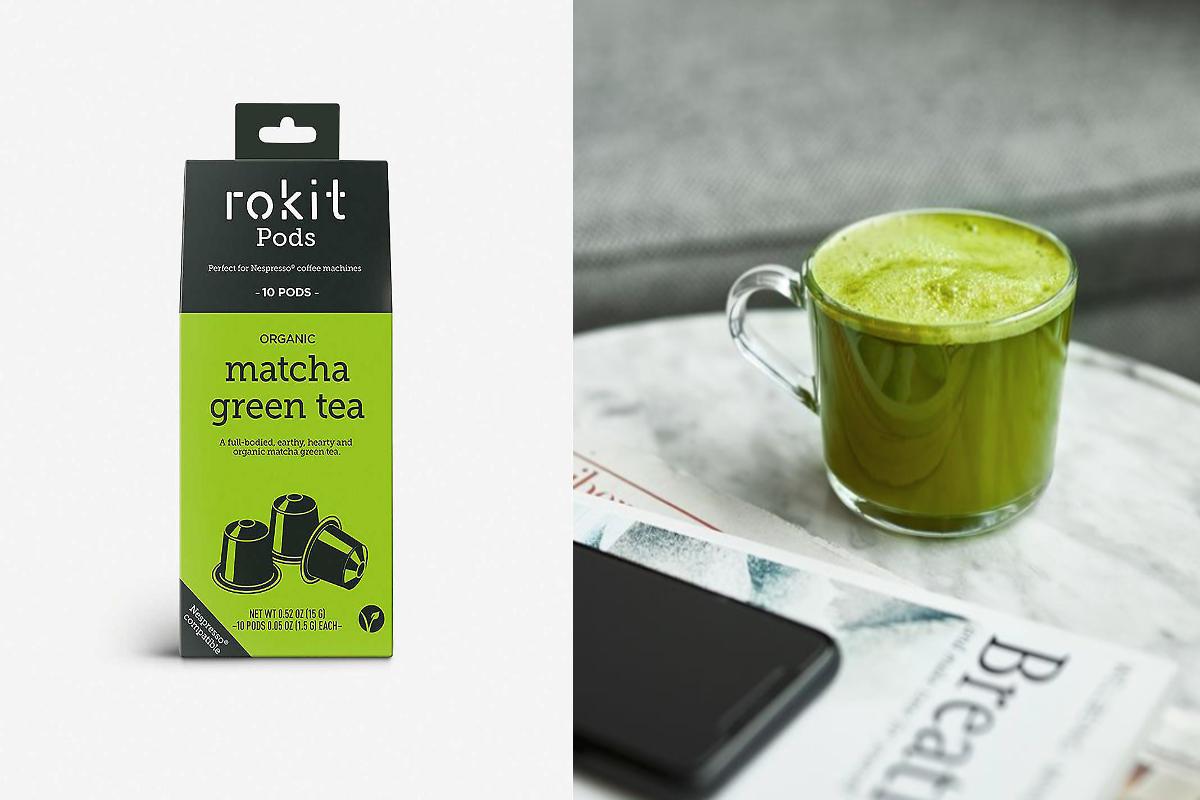 Organic Matcha Green Tea Nespresso Pods 20g