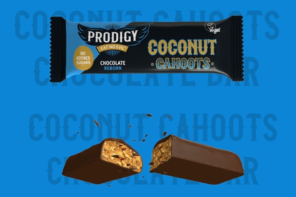 Healthy chocolate bars - Prodigy Coconut Cahoots