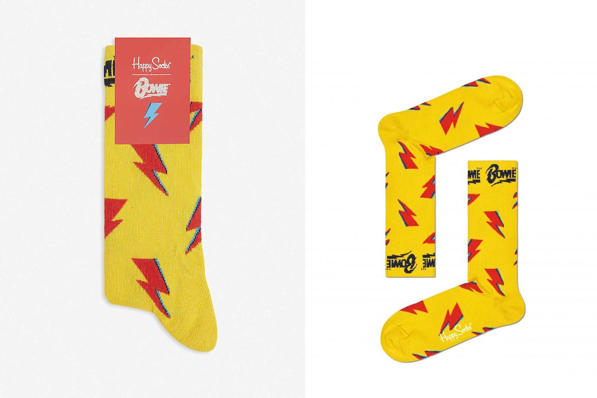 Bowie happy socks