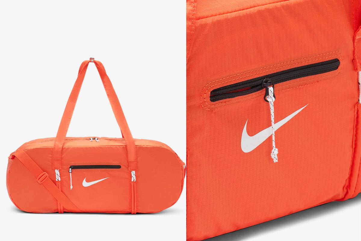 orange stash bag nike