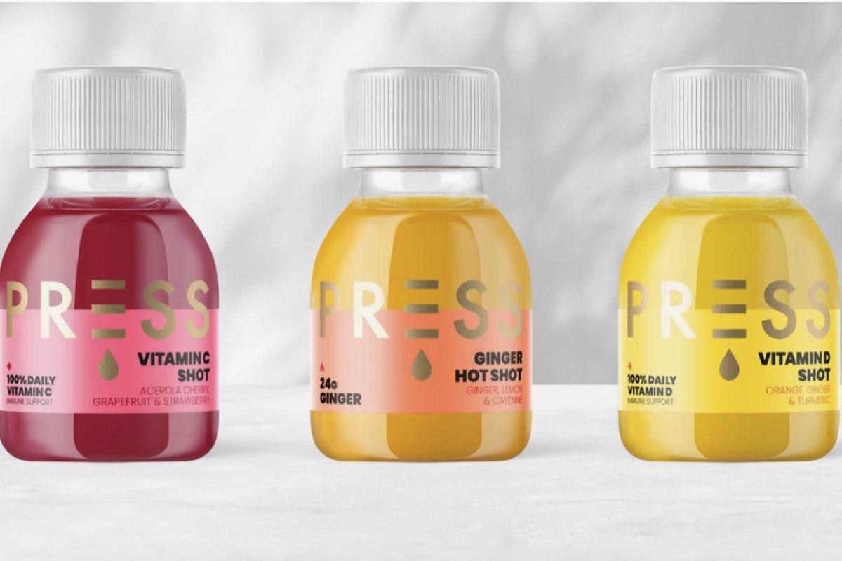 Press London immunity juice shots