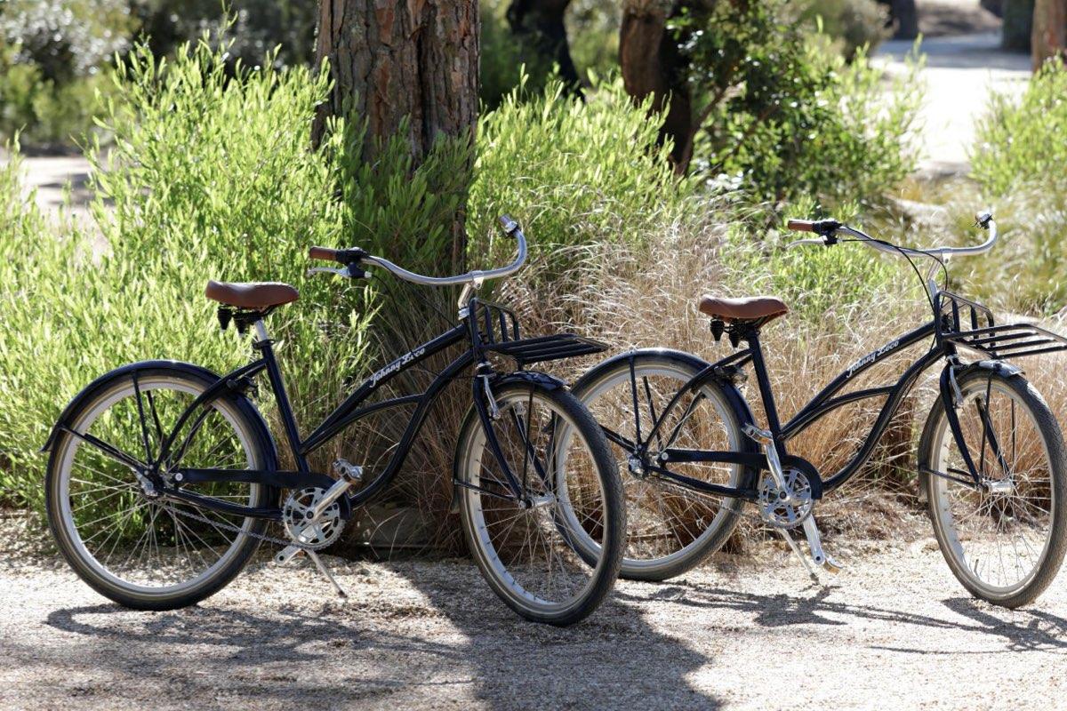 e-bikes at sublime comporta