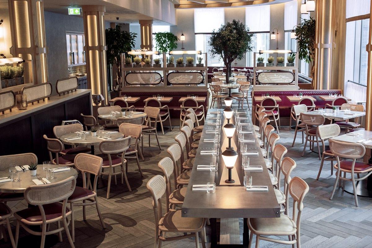 Dining at Hart Shoreditch Hotel